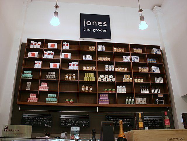 Jones the Grocer at Dempsey Hill