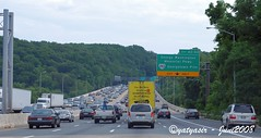Capital Beltway 495 Maryland to Virginia... pas kena rush hour alias waktu macet!