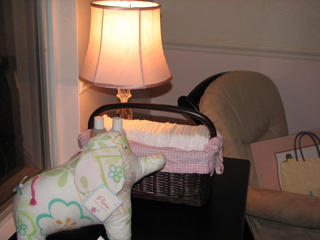 baby room changing area