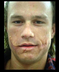 heath without joker makeup