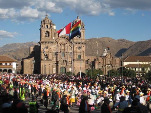 El Festival de Inti Raymi del Cusco