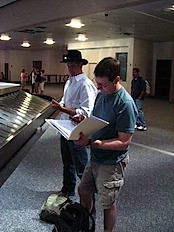 Greg & Terry @ LV Airport