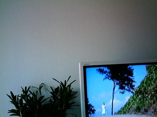 【写真】VQ3007で撮影した室内(リビング)