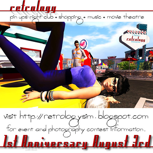 Retrology 1 YEAR ANNIVERSARY Photo Contest