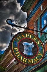 Naples Pharmacy (josefrancisco.salgado) Tags: usa newyork nikon unitedstatesofamerica naples nikkor fingerlakes hdr d3 hdri ldr photomatixpro tonemapping tonemap 7xp highdynamicrangeimaging ldri 70300mmf4556gvr hdraddicted villageofnaples naplespharmacy