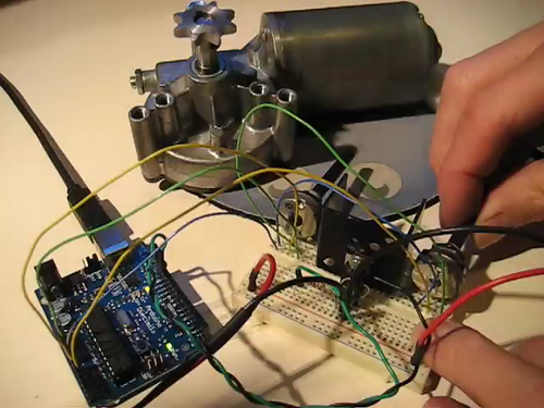 Arduino DC motor control - PWM - a photo on Flickriver