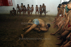 "INDIA TRADITIONAL WRESTLING (Raminder Pal Singh) Tags: india art freestyle play mud wrestling rope strength tradition punjab amritsar gymnasium hold malla guru cling bout skill grasp ghol akhara raminder kushti dangal warriorship ""grecoroman"" ""traditionalindianwrestling"" akhaara ""wrestlingstyle"" ""traditionalgymnasium"" ""raminderpalsingh"" ""photofeatureonkushti"" photofeatureonindianwrestling"" ""epaphoto"" ""europeanpressphotoagency"" ""featurephotography"""