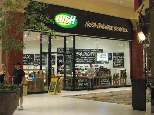 The Lush store in Mandalay Bay