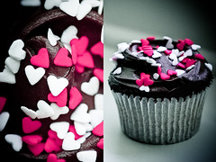 This is Love<3 (Jadore Allure) Tags: uk london love hearts dessert yummy delicious cupcake allure jadore chocholate