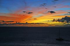 sky and sea (catklein) Tags: sunset love maui