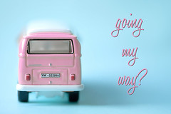 need a lift?... (~ geisha ~) Tags: pink vw campervan geishablue forprettypinktuesday