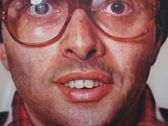 chuck close! (sen136) Tags: painting awesome chuckclose metropolitanmuseumofart photorealism