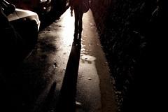 sidewalk shadow