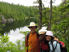 Eric, Maia, Ming and Petgill Lake