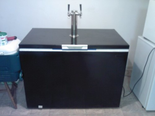 Chest Freezer Kegerator Conversion Kegerator Conversi