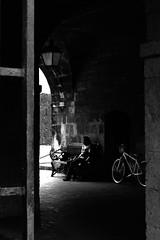 paghihintay (jobarracuda) Tags: bicycle waiting philippines intramuros fz50 oldwall paghihintay panasoniclumixdmcfz50 jobarracuda jobar