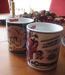 Carry on on Mugs - at home