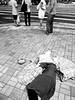 don't look back. (YENTHEN) Tags: china bw hongkong streetphotography yenthen