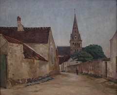 Soir  Chamant - 1928 (Evening in Chamant, 1928) (Chamant) Tags: life france art nature painting belgium belgique aquarelle fineart paintings peinture canvas master morte painter oil impressionism guerre georges impressionist emile bray oilpainting ypres picardie naturemorte peintre senlis rully oise impressionnisme postimpressionism impressionniste peinturelhuile jemappes chamant peintrebelge postimpressionniste lebacq georgesemilelebacq georgesmile belgianpainter georgeslebacq