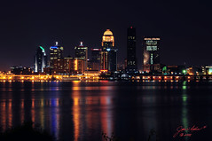 City at Night (John Adkins II) Tags: longexposure relax landscape cityscape kentucky slowshutter louisville ohioriver afterdark magicalmoments louisvillekentucky thecityatnight nikon18200vr nikond300