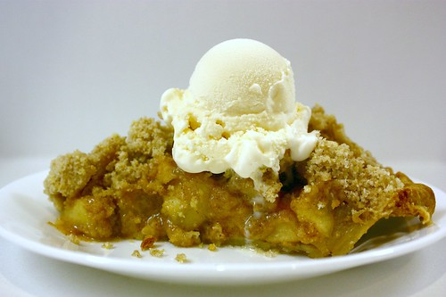 Pineapple Apple Pie a la Mode