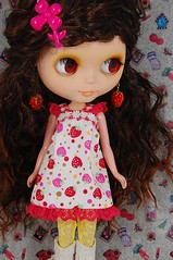 Strawberry Lacey dress