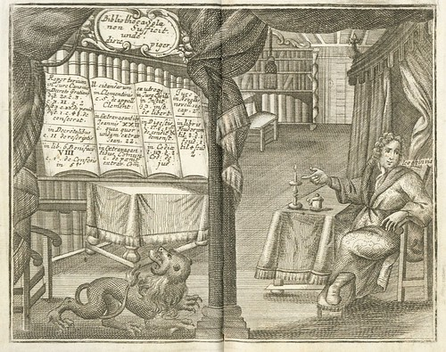 Album Juridicum frontispiece (Johann Werle, 1733) - Yale Law Library