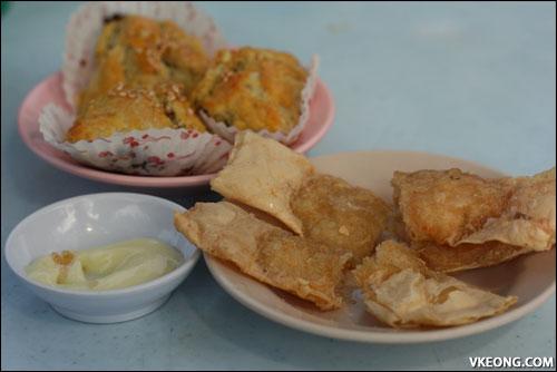 fried prawn rolls
