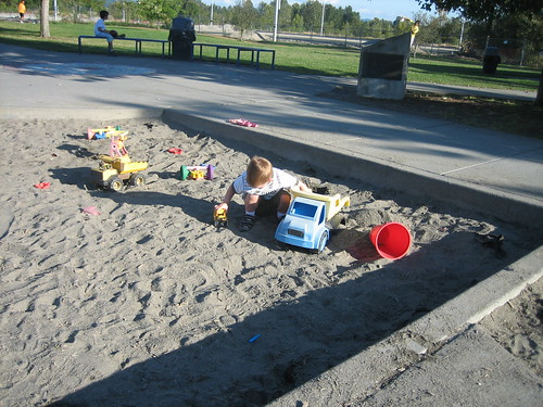 I love the sandbox!