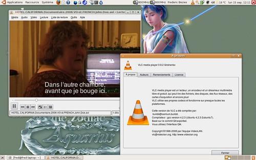 VLC 0.9.2 sous Ubuntu 8.04.1 LTS