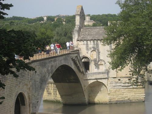 Le pont, lieu de fête (Daudet)