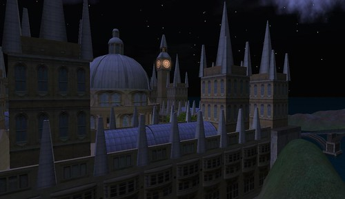 the spires of Caledon Oxbridge