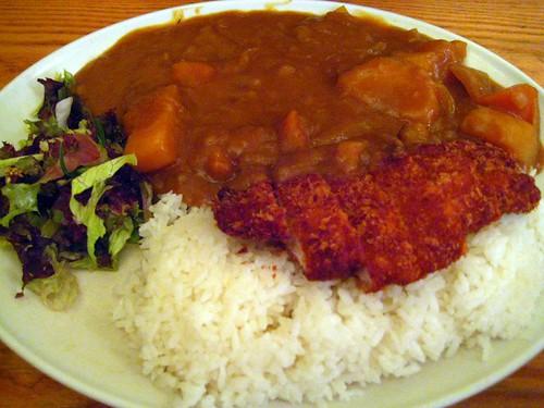 Chicken Katsu Curry - Tokyo Diner