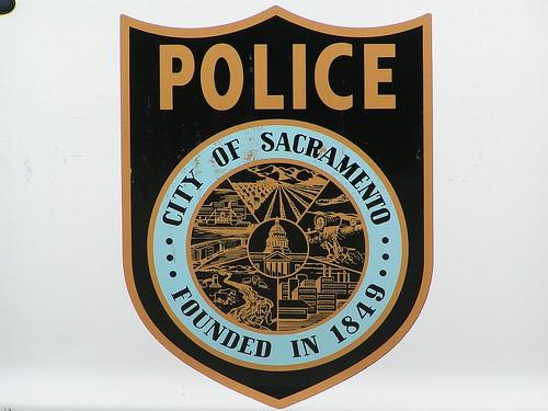 Sacramento Police Logo par El Cobrador
