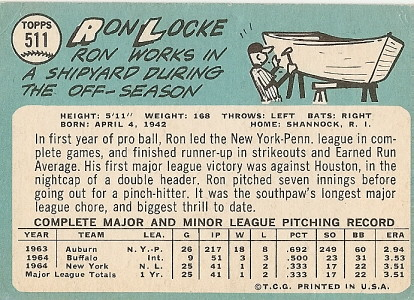 Ron Locke (back) by you.