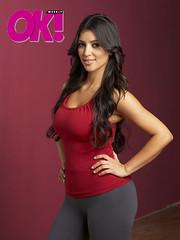kim kardashian in ok magazine pic