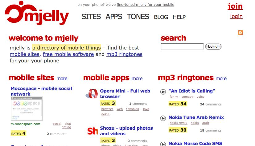 mjelly - PC site home page