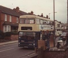 Walkathon (co-ophistorian) Tags: travel west birmingham 1989 midlands metrobus stirchley walkathon mcw pte brmb loa434x