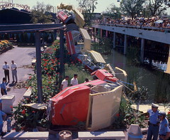 HemisFair '68 Monorail Accident (BOB WESTON) Tags: sanantoniotexas hemisfair trainaccident hemisfair68