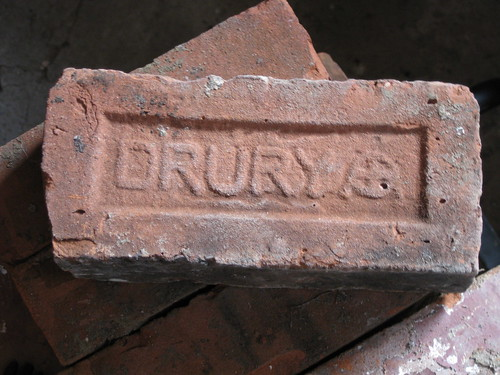 Locally Salvaged Drury Brick