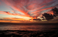 First night at Maui (dkjd) Tags: ocean sunset vacation fall beautiful clouds hawaii pacific maui