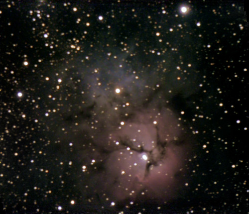 M20-Trifid Nebula on 10-18-08