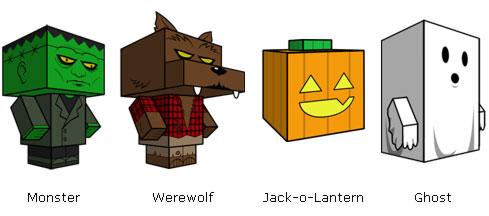 Halloween vu par Cubeecraft