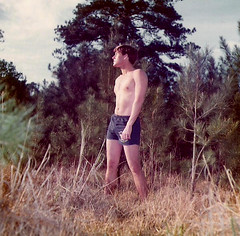 RustyGreen.d6 (ken3329@att.net) Tags: shirtless male men houston posing shorts hunks memorialpark