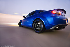 Sahba's 'Hero' Blue RX-8 (Danh Phan) Tags: blue cup car canon houston style rig mazda suction rx8 1022 sahba carrig 40d