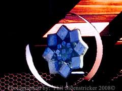 Windchime Art (phil_sidenstricker) Tags: art metal stainedglass lightshadow windchime chickenwire donotcopy valleyofthesunphoenixmetro upcoming:event=981998 southmountainfarmphoenixazusa