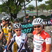 Bev, and Karla on the start line