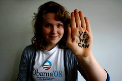 (65/365) - Yes. We. Can. (jla ) Tags: america president tribute vote elections democrat obama barackobama barack yeswecan