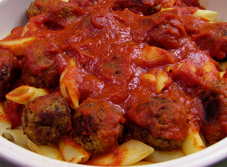 Happy Herbivore's Meatballs