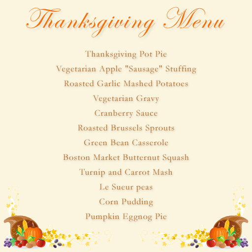 HeatherKatsoulis.com » Vegetarian Thanksgiving Menu & Recipes